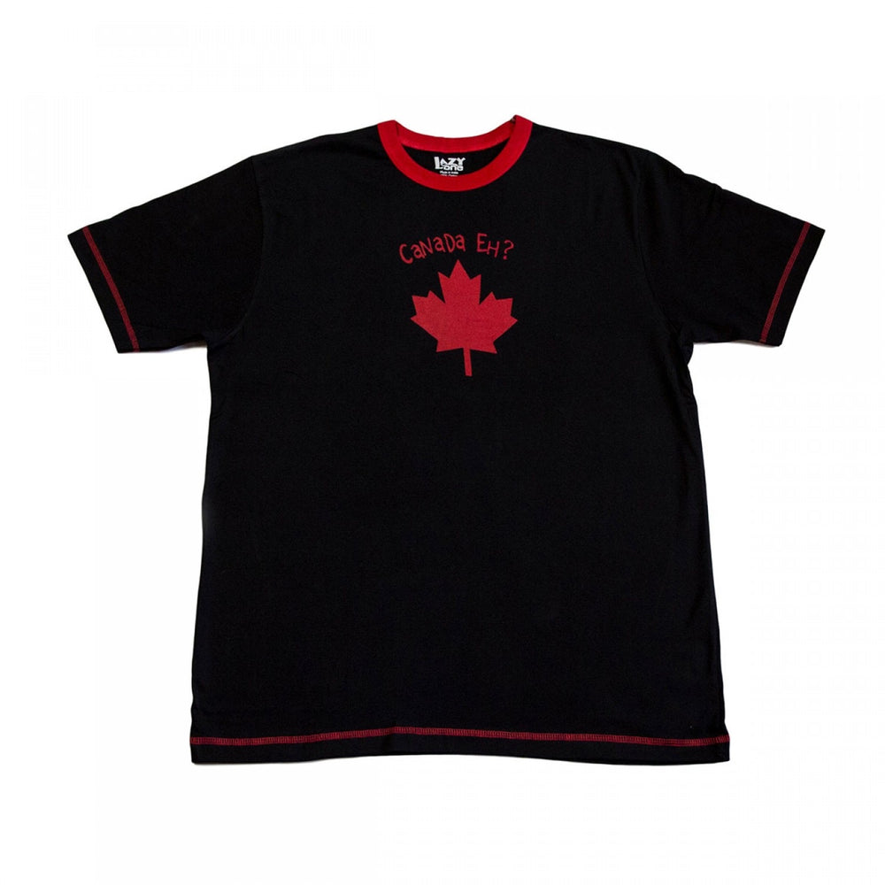 lazy one Canada eh red adult pj top