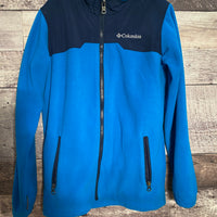 Columbia zip up jacket - gently used size 10/12 (medium)