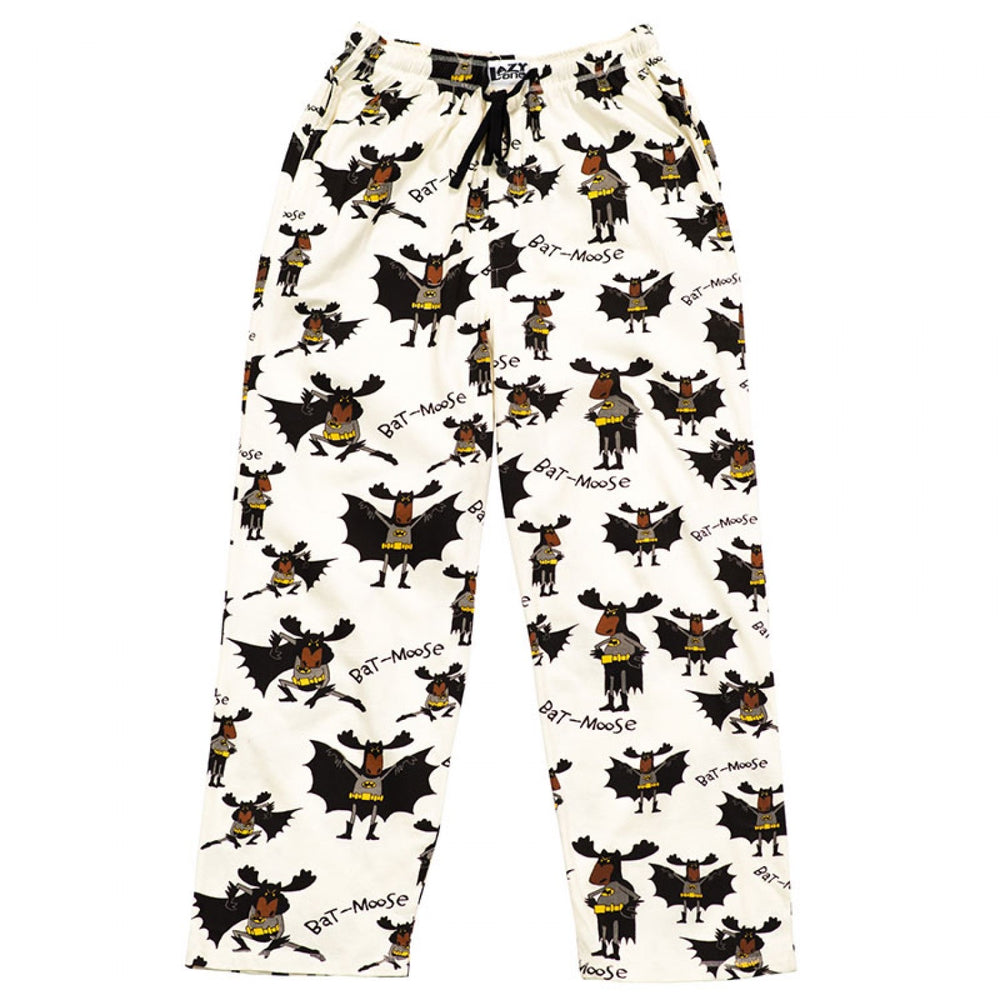 Lazy One Bat Moose unisex pj pants