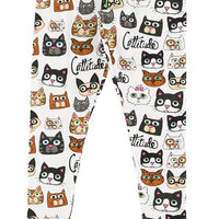 lazy one cattitude adult pj leggings