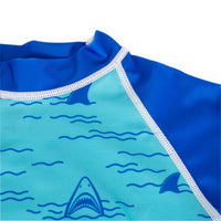 Oaki rash guard - chomp chomp shark
