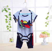 5 pce pant set - airplane
