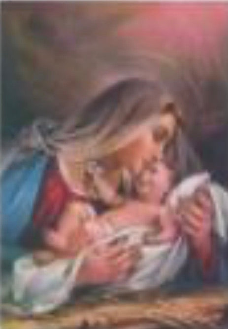 50 x 60 full square drill diamond painting - TA1163 - mother's love