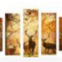 1 of 20 x 50 2 of 20 x 40 2 of 20 x 30 full square drill diamond painting - TA041 - deer