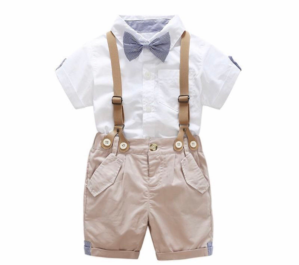Boys 4 Piece Short Suit