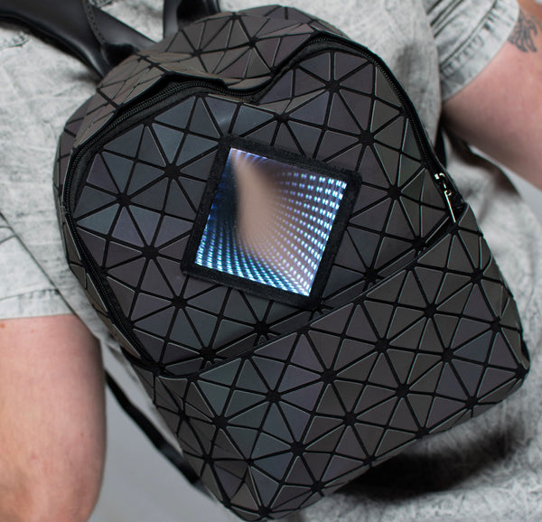The perfect backpack for any nightlife event.