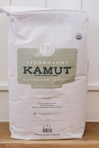 Kamut Brand All-Purpose White Flour 25 lb
