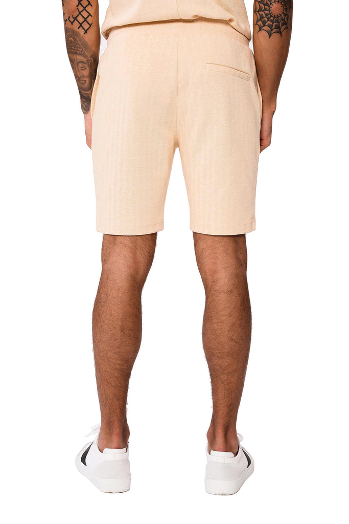 Herringbone Short - Sand