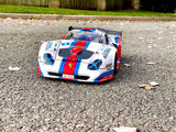 Delta Plastik 0165 - Porsche 911 GT1 EVO 1/8 Scale GT RC car body