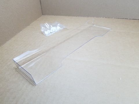 Delta Plastik Wing6 - Clear 1/8 GT wing with nylon nuts