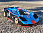 Delta Plastik 0094s - Mclaren GTR  1/8 Scale GP RC car body 2mm