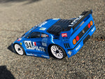 Delta Plastik 0100 - F40 1/8 scale GT RC car body