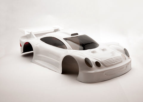 Delta Plastik 0142 - Mercedes CLK 1/8 scale GT RC car body