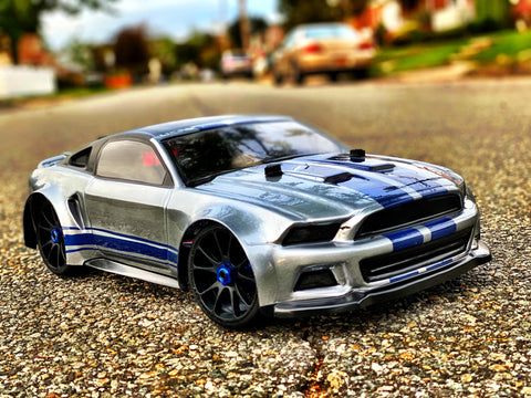 Delta Plastik 0175 Mustang 1/8 Scale GT RC car body