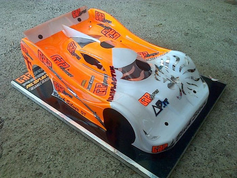 N147s- Dome 2013 8th Scale GT Car Speed Run Body 2mm