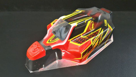 OFF52 Flash body for 1/8 scale Mugen, Sworks and Associated Buggies