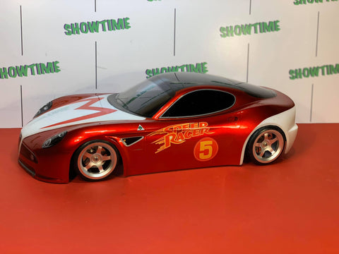 Delta Plastik FT001- Alfa Romeo 8C 1/10 scale 200mm RC car body