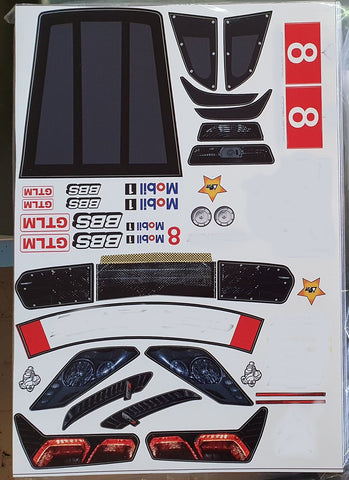 8503s Decals for 1/7 CR7