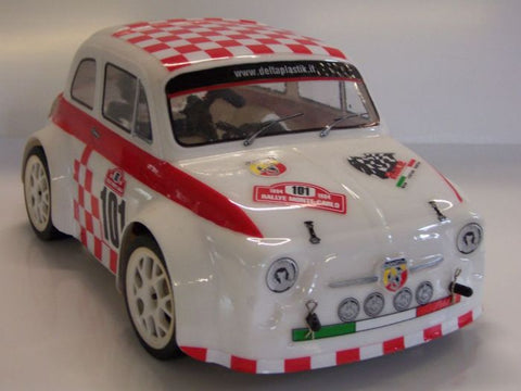 0600 Fiat 500 Abarth for 1/16 and 1/18