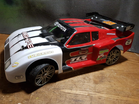 Delta Plastik 0133 - Toyota Celica Turbo Gr.5 1/8 scale GT RC car body