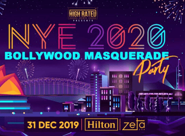NEW YEAR'S EVE 2020 - BOLLYWOOD MASQUERADE PARTY