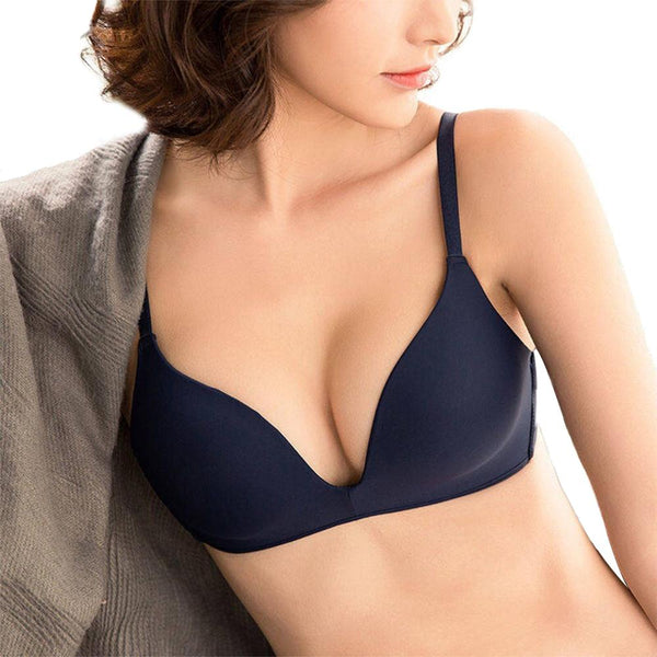 Women Seamless Push Up No Wire Brassiere