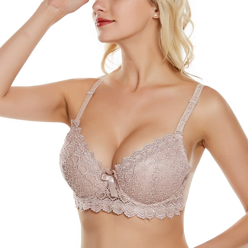 Women Thick Cup Sexy Push Up Bras
