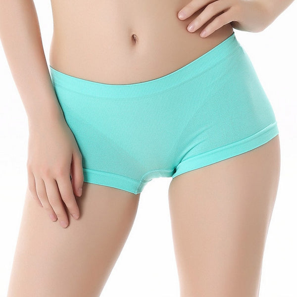 Women Low Waist Underwear Seamless Panties