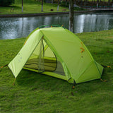 Naturehike 1KG  Single Person Backpacking Tent Pro 20D Silicone Fabric Rainproof Single Pole Ultralight NH Outdoor Hiking Camping