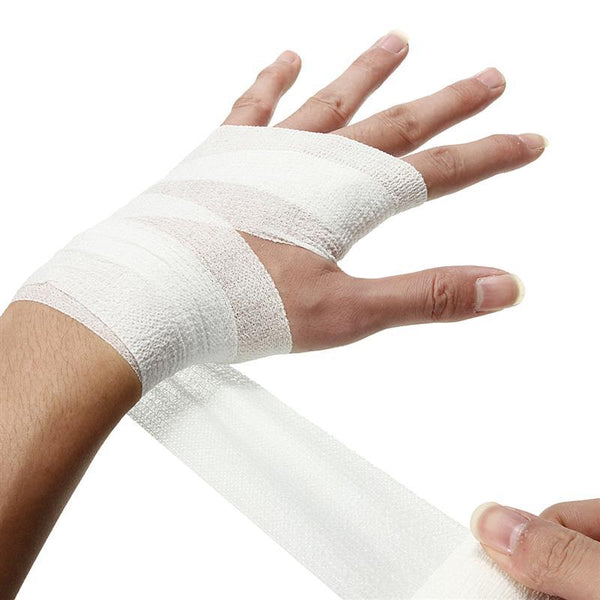 Waterproof Self-Adhesive First Aid Survival Elastic Bandage