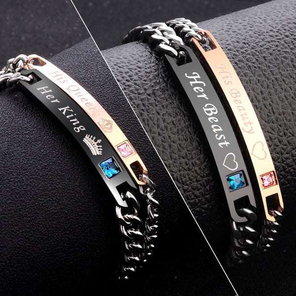 Romantic His & Her Matching Bracelets