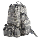 Outlife 50L Multifunction Molle Camouflage Backpack for Outdoor Sport Climbing Hiking Camping
