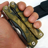 Survival Pocket Multi-Tool w/ Pliers, Knife, Hook & Saw Blade