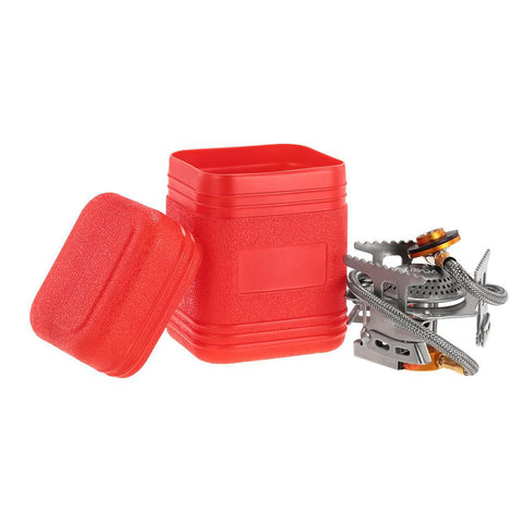 Compact and Convenient Gas Camping Stove