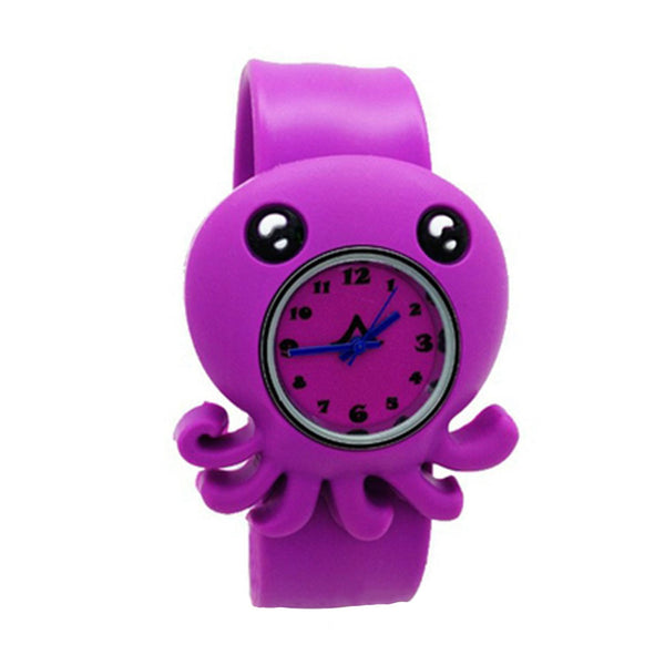 Children's Small Octopus Cartoon Kids Wrist Watch