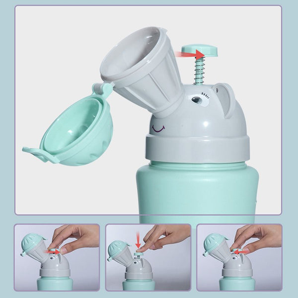 Portable Baby Child Urinal Camping Car Travel Potty Emergency Baby Potty for Baby Boys Girls Female Urinal Device