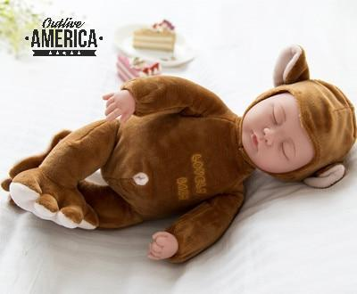 Plush Lifelike Baby Doll Toy