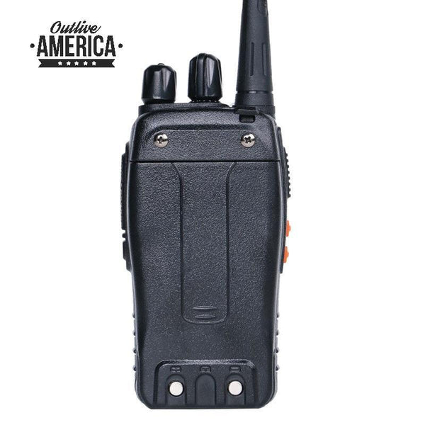 Baofeng Walkie Talkie 5W Handheld UHF 400-470MHz 16CH Two-way Portable CB Radio