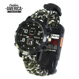 EDC Tactical Survival Watch