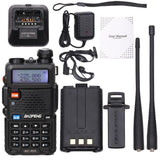 BaoFeng Tri-Band Walkie Talkie 136-174Mhz 220-260Mhz/400-520Mhz+2 Antenna Two Way Portable ham Radio