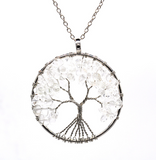 Tree Of Life Gemstone Necklaces