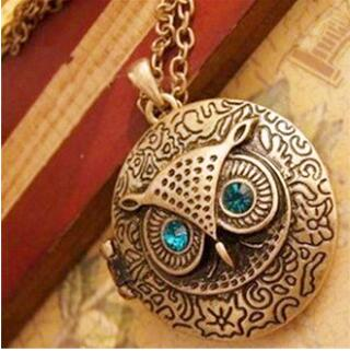 Big Eyes Owl Necklace