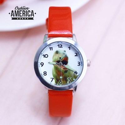 Children Boys & Girls Cool Cartoon Dinosaur Quartz Watches