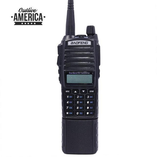 8W Powerful Walkie Talkie 1/4/8Watts 10KM Long Range 2 Way CB Radio +Car Charger