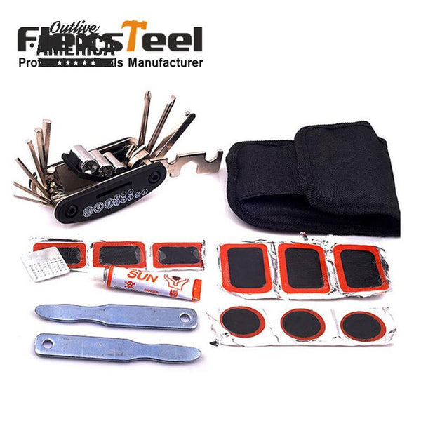 Bicycle Tire Repair Tools Kit
