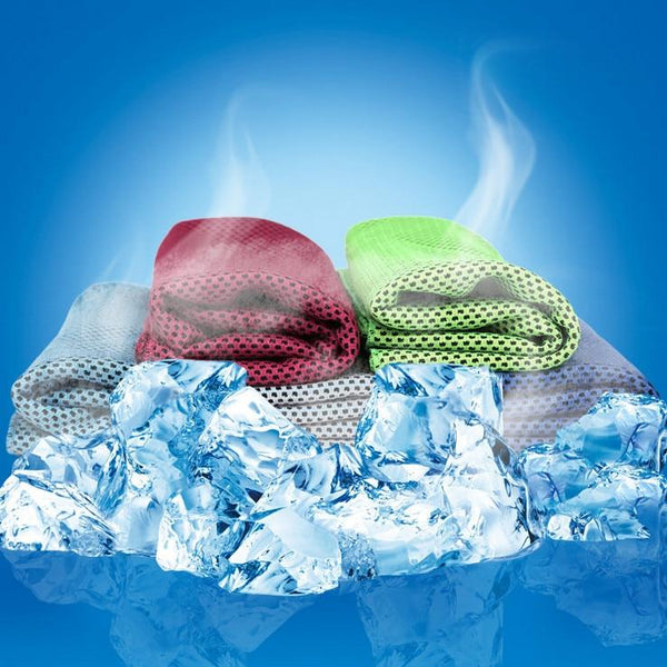 Multicolor 90*30cm Ice Towel Utility Enduring Instant Cooling Towel Heat Relief Reusable Chill Cool Towel Cold towel