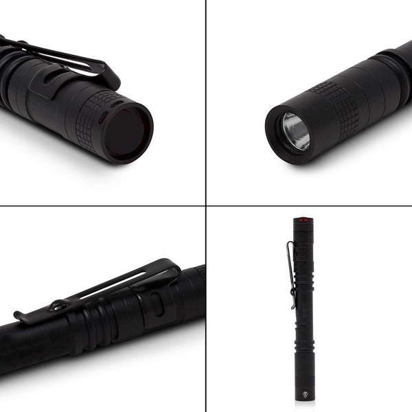 Mini LED Pen Light Flashlight