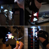 Magic Strap LED Light Glove Flashlight