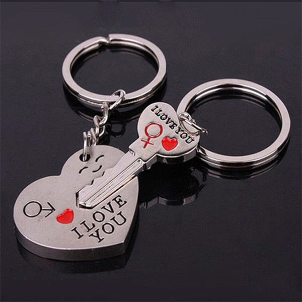 His & Hers Love Key Chains or Necklaces