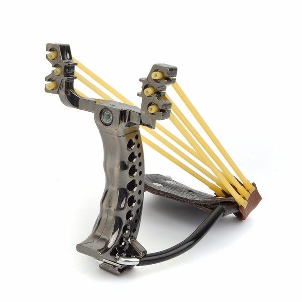 Powerful Hunting Slingshot With Rubber Band Tubing